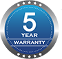 3DRPD 5 year warranty